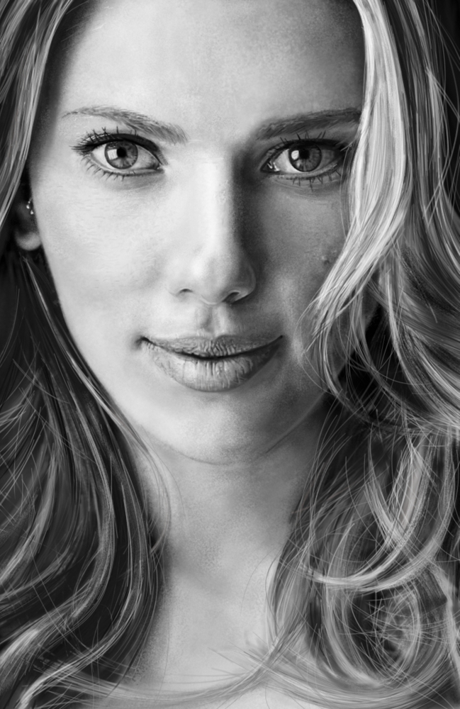 Scarlett Johansson by Aryaneire